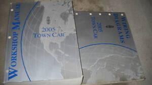 2005 LINCOLN TOWN CAR Service Shop Workshop Repair Manual ...