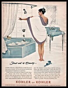 1956 vintage 2pg AD American Standard Bathroom