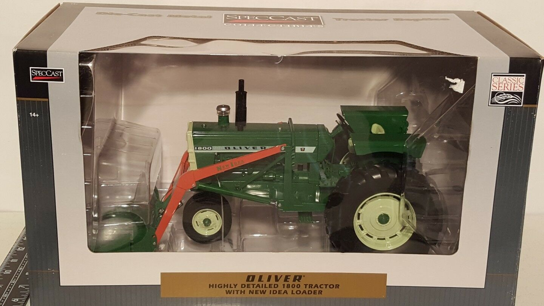 ventas en linea Oliver 1800 con nueva idea Cochegadora 1 16 Diecast Diecast Diecast Tractor de Granja réplica por Speccast  100% precio garantizado