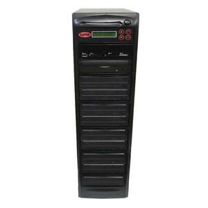 SySTOR 1-9 USB/SD/CF/MS/MMC MultiMedia Backup Copier to CD DVD Duplicator