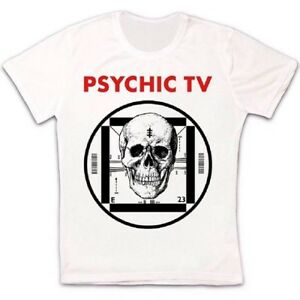 Psychic Tv Force The Hand Of Chance Post Punk Retro Vintage Unisex T Shirt 1738