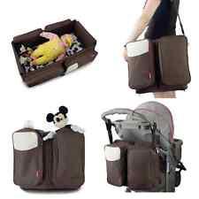 Nursery Diaper Bag Crib Bassinet Bed Portable Baby Infant Stroller Furniture Boy