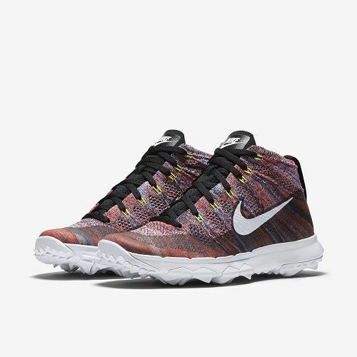 Nike NK Flyknit Chukka4 EUR 37.5 819006 Ladies Golf Trainers Chaussures 819006 37.5 002 242fe1