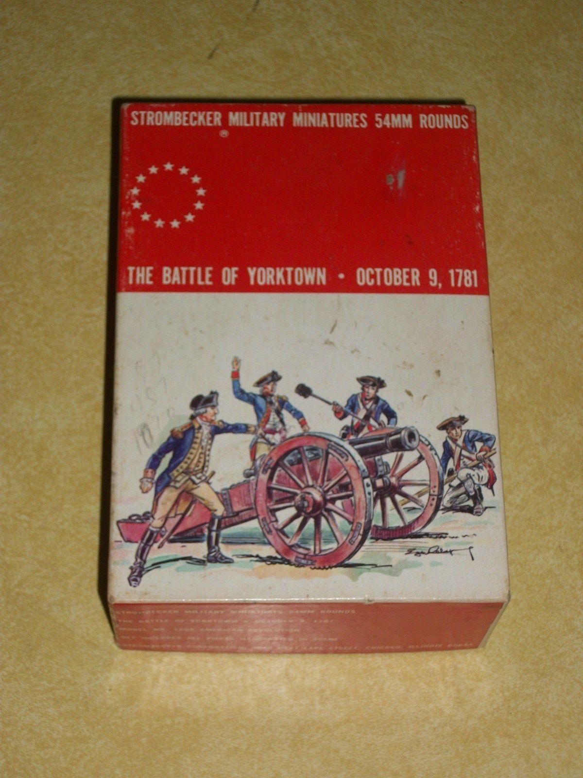 Modelo De Juguete Revolución Mini Soldado Militar Ejército Hombre llamada a armas STROMBECKER Caja