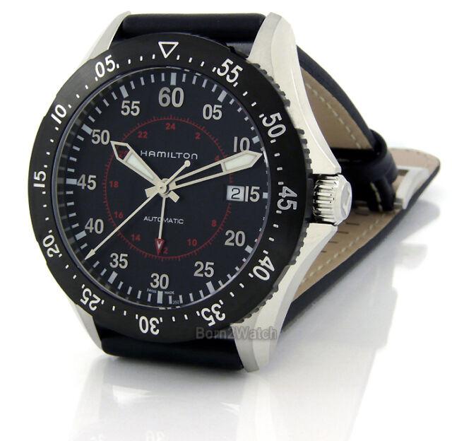 Hamilton Khaki Aviation Pilot GMT Automatic H76755735 Men s Watch ... f643f11eb