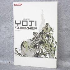 YOJI SHINKAWA Art of Yoji Shinkawa 3 Metal Gear Solid Booklet Book Ltd *