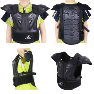 Kids Body Chest Spine Protector Armor Protective Vest Gear For Dirt Bike Skiing