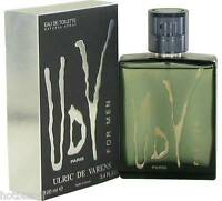 Udv By Ulric De Varens Cologne Perfume Men 3.4 Oz 100 Ml Edt Spray In Box
