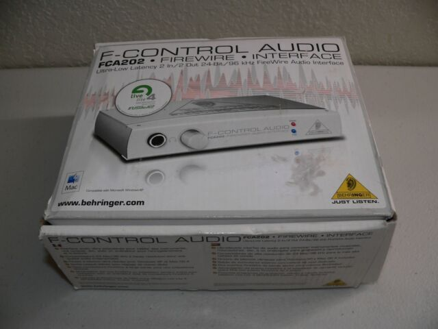 Behringer Fca202 F-control FireWire Audio Interface