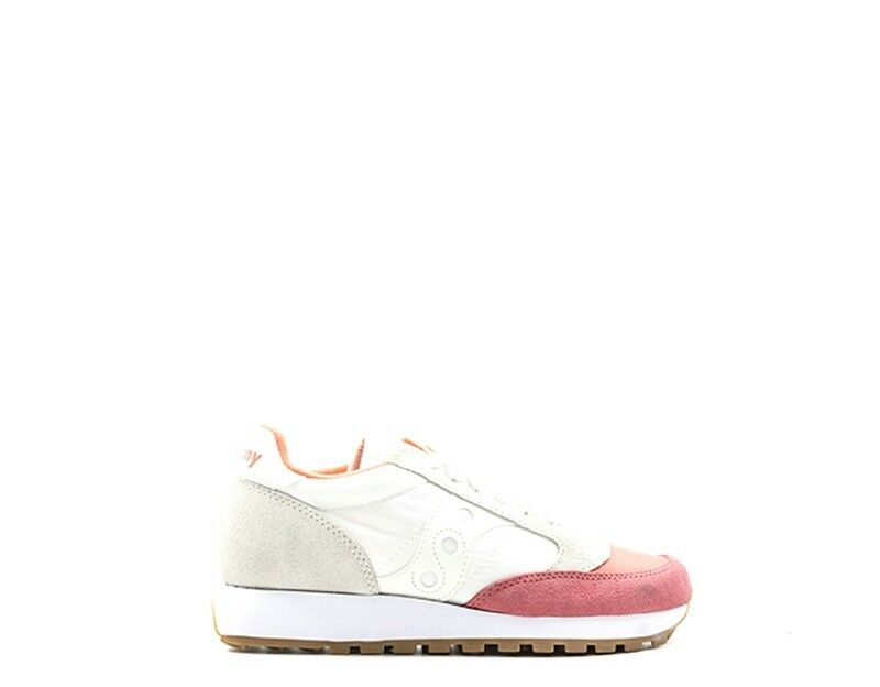 Zapatos promocionales para hombres y mujeres Scarpe SAUCONY Donna BIANCO Scamosciato,Tessuto S1044-405