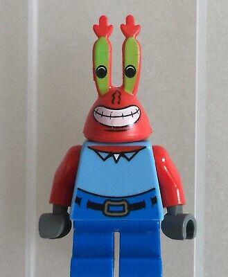 Patrick Krabs Plankton Lego Minifigure Spongebob Squarepants Lot B ~ Mr More