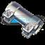 Auspuff Rohrverbinder Doppelschelle Schelle Verbinder Universal Ø 40 x 90mm NEU