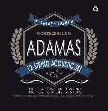 Gitarrensaiten: Adamas Phosphor Bronze 1616 - 12-string
