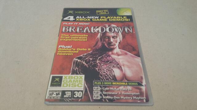 Official Xbox Magazine #30 DEMO DISC