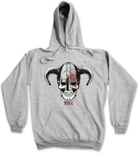 Valhalla Walhalla Viking Viking's cappuccio Iv Odin Skull con Thor Viking Skull Felpa xg0vqwwP