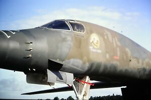 4-516-2-Rockwell-B-1-Lancer-NOSE-ONLY-Kodachrome-SLIDE