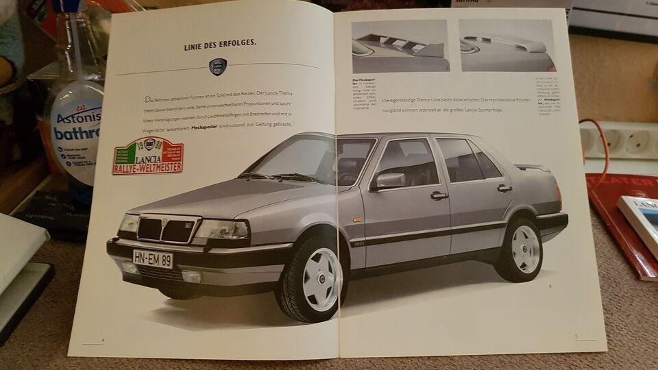 Brochurer, Lancia