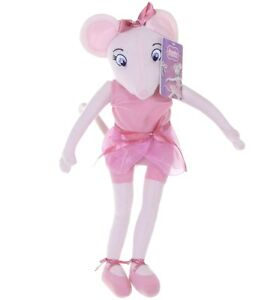 OFFICIAL-BRAND-NEW-17-034-ANGELINA-BALLERINA-PLUSH-SOFT-TOY-DOLL-ANGELINA