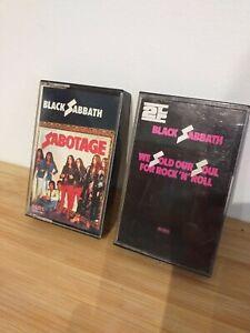 2-X-Black-Sabbath-Cassette-Tapes-Original-NEMS-Sabotage-We-Sold-Our-Soul