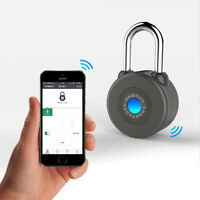 Phone App Remote Control Waterproof Smart Bluetooth Lock For Bicycle Outdoor