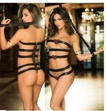 Super sexy black bandage dress sexy nightclub perspective dress VV-1720