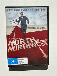 North-By-Northwest-50th-Anniversary-Edition-2-Disc-DVD-Hitchcock-Rare-OOP
