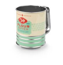 Tala Retro-design Grün Flour Zucker Kakao Sieb Sieb Shaker Plastik Abdeckung Neu