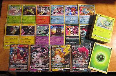NM COMPLETE Pokemon EX UNSEEN FORCES 31-Card COMMON Set Non-Holo Eevee Trainer