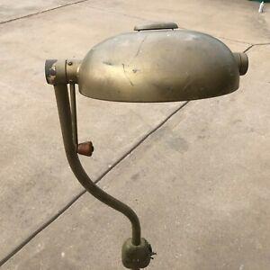 Vintage-1930s-Dentist-Industrial-Medical-Floor-Lamp-Doctors-Light-Steampunk