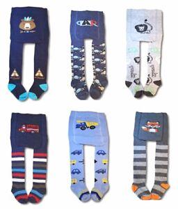 Nuevo-Nino-Bebe-Nino-80-Algodon-Pantalones-Suaves-Calzas-calentadores-Calcetines-0-3-anos