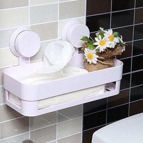 Etagère de salle de bain avec support de rangement pour douche avec ventousBGS