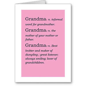 Image Is Loading Personalised Typographic 034 Grandmother Dictionary Definition Birthday