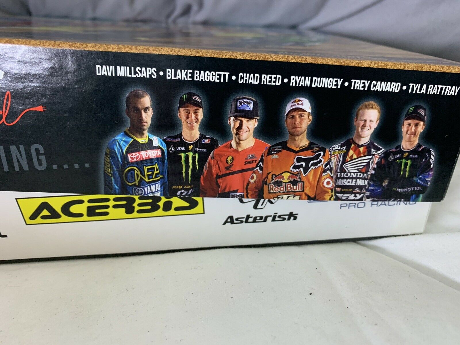 Lucas Oil Pro Motocross Championship Board Game Chad Reed Dungey Millsaps Canard