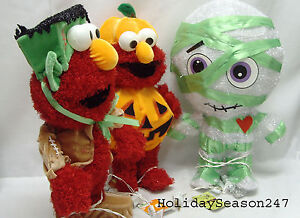 "PRODUCT WORKS 3D Prelit Spooky Halloween Sesame Street Muppet Character 18"" Prop"