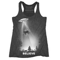 Women's Ufo Tank Top I Want To Believe T-shirt