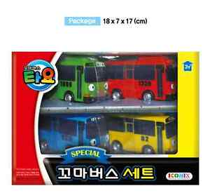 TAYO the Little Bus Friends 6 Cars A Set Toy for Children/'s toys Birthday Gift