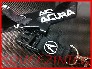 ACURA LANYARD BLACK INTEGRA RSX TSX TL ILX DA DC DC DB RL MDX - Acura lanyard