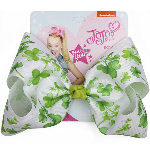 9 Styles 8 Inch JoJo Siwa Hair Bows Rainbow Big Bowknot Hair Pins for Gilrs Gift