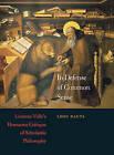 In Defense of Common Sense: Lorenzo Valla's Humanist Critique of Scholastic Philosophy by Lodi Nauta (Hardback, 2009)