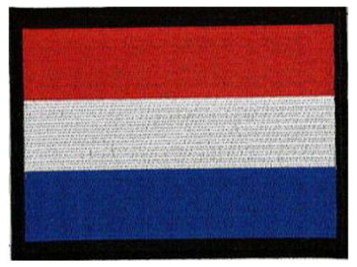 """Patch 5/""""x 4/"""" Holland Netherlands 13 x 10CM embroidered approx"""