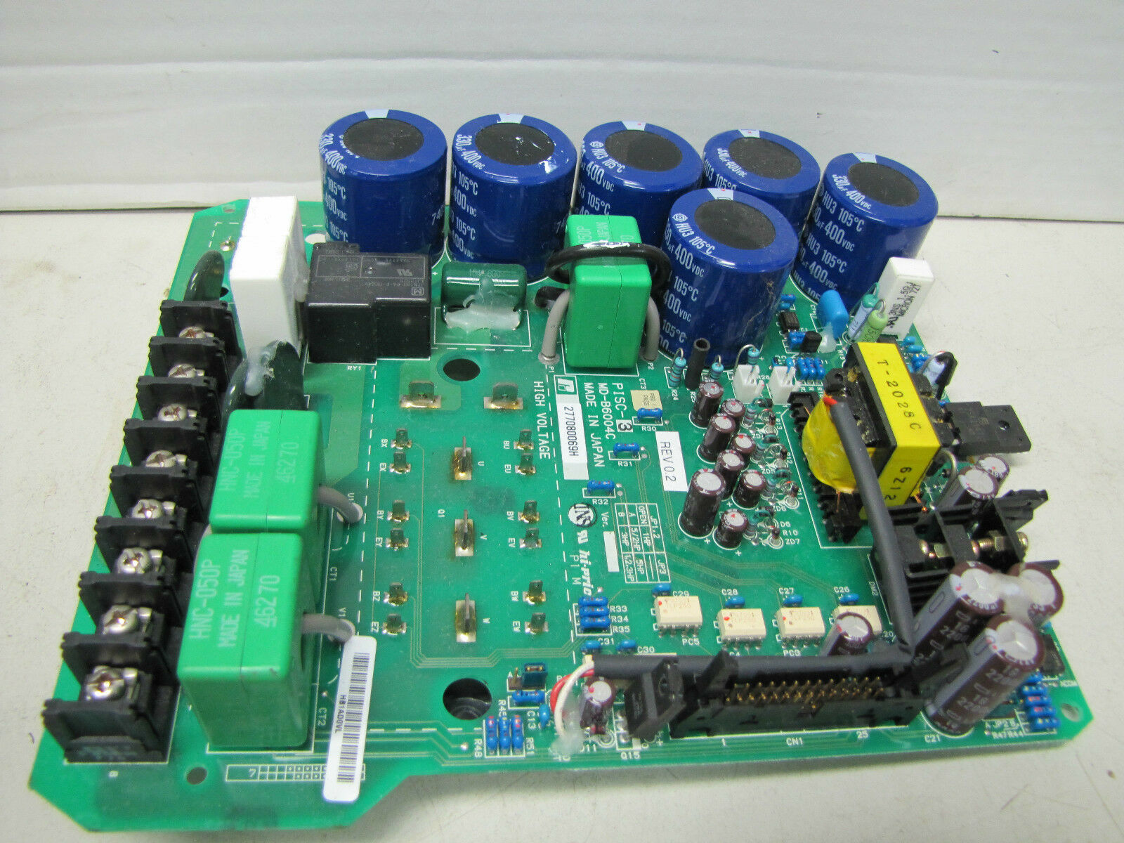 RELIANCE ELECTRIC CIRCUIT CONTROL BOARD HI-PRIC PISC-3 PISC3 MD-B6004C MDB6004C