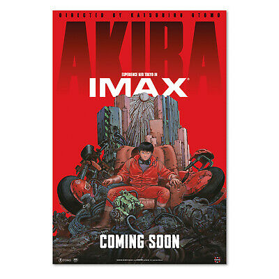 Akira Anime Poster High Quality Prints IMAX Key Art