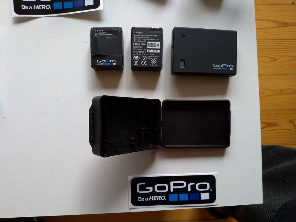 GoPro, Ukendt megapixels, Ukendt x optisk zoom