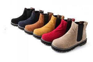 botas invierno cómodo zapatos de tacón mujer 2 color beige marrón negro 8743