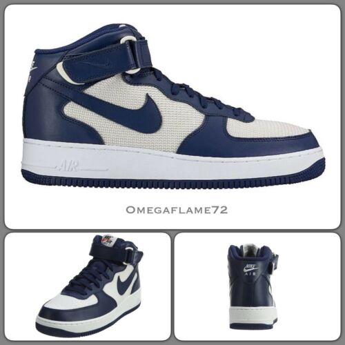 315123 412 Et Af 5 Eu 9 42 Nike Mid Navy Vintage 1 Us Uk 8 Force Air 1 WqIpY0U