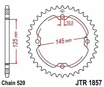 NEW JT SPROCKETS 39T YAMAHA STEEL REAR SPROCKET  JTR1857.39