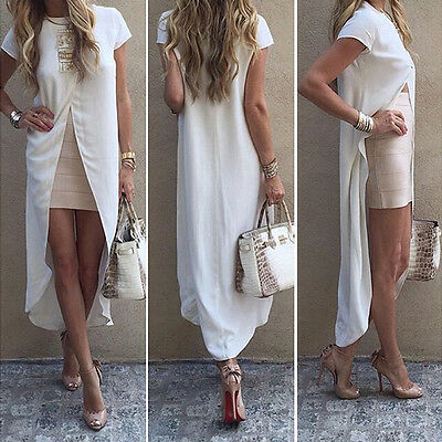 New Fashion Womens Ladies Loose Chiffon Tops Long Sleeve Shirt Casual Blouse