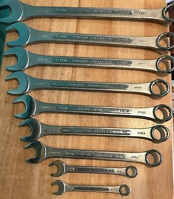 12 Pt Combination Wrench India Hand Tools Large Sizes Sae Chrome Vanadium Set 9