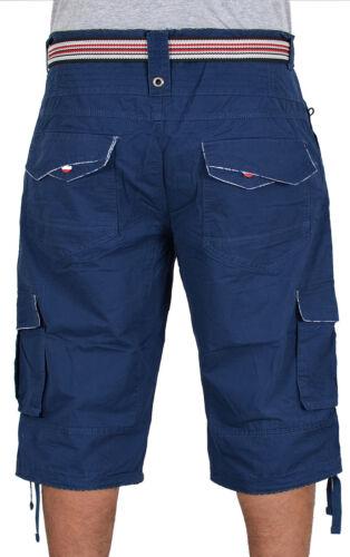 Uomo Capri Pantaloni Uomo Bermuda Jeans Uomo Pantaloncini Cargo Uomo Caprihose a413