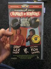 WCW - Halloween Havoc 1991 Chamber Of Horrors (VHS Tape) Turner Home WWE